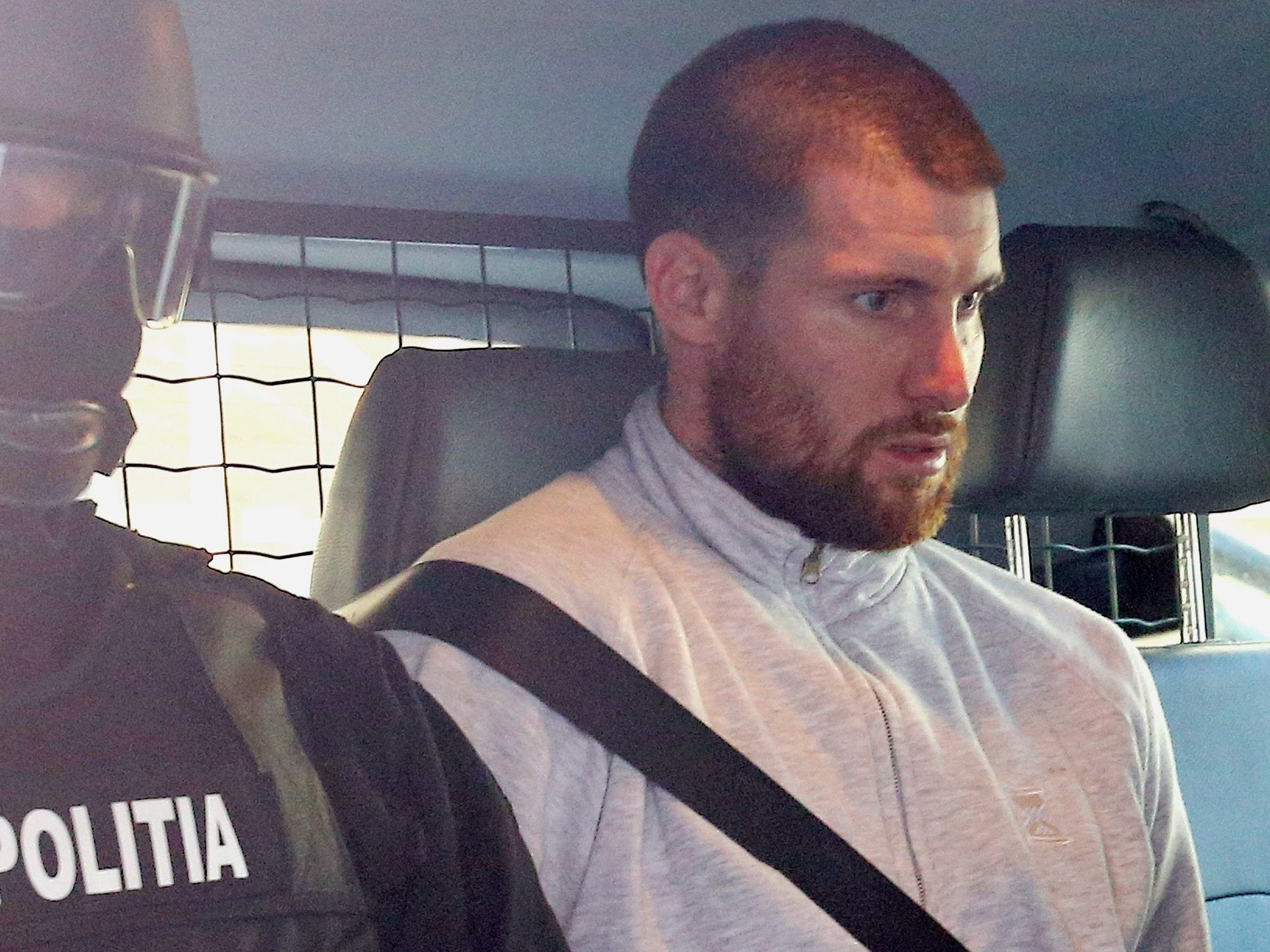 28f3917e5279d Shane O Brien  Video shows moment Britain s most wanted fugitive is  arrested over  murder  of Josh Hanson