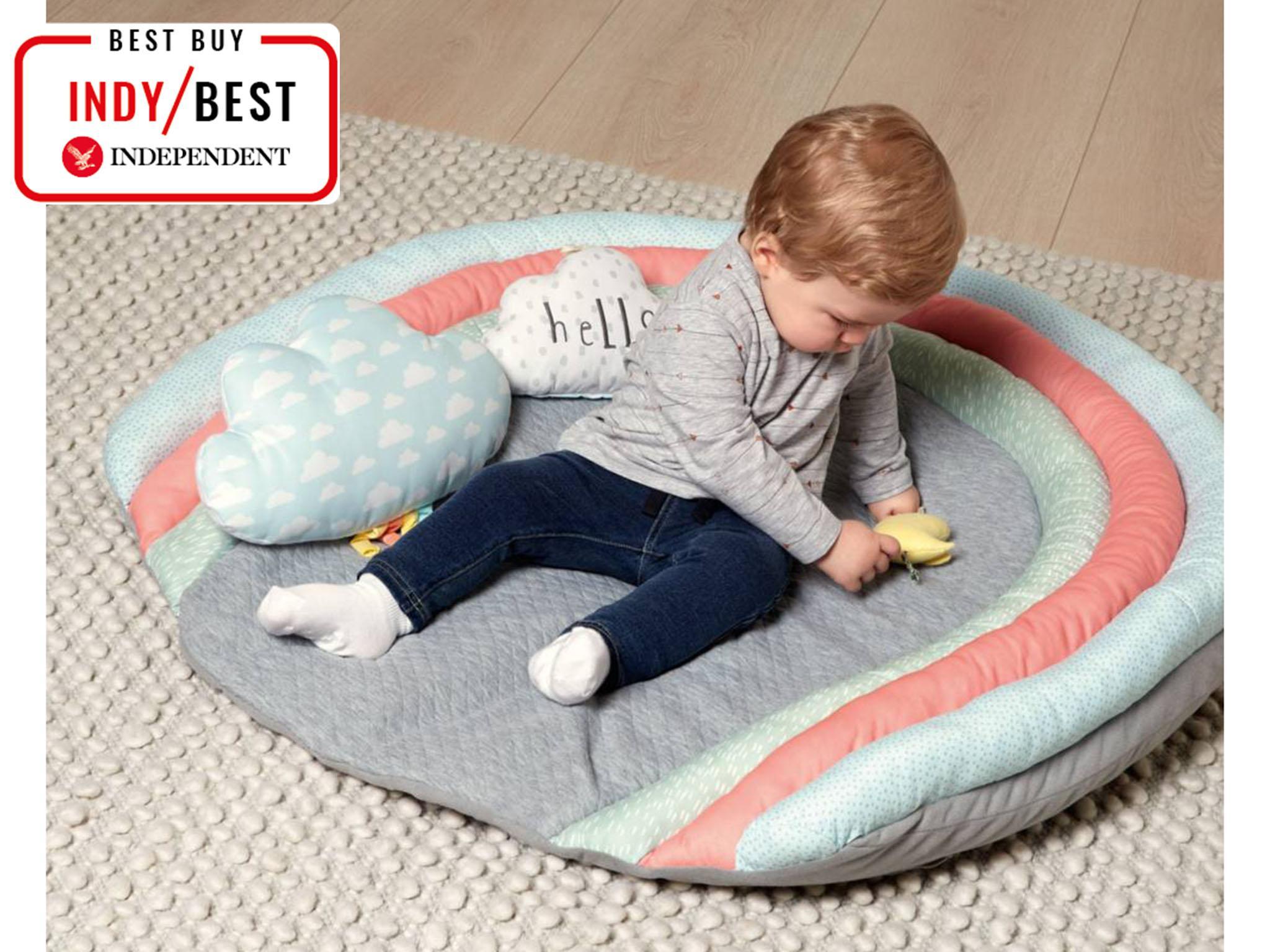 Nordic Series Round Carpets Children Play Mattress Mat Furniture Toys Toys & Hobbies