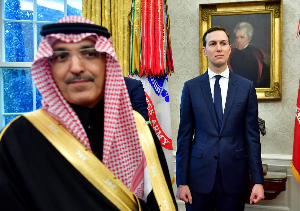 Kushner discussed US policy with Saudi rulers day after