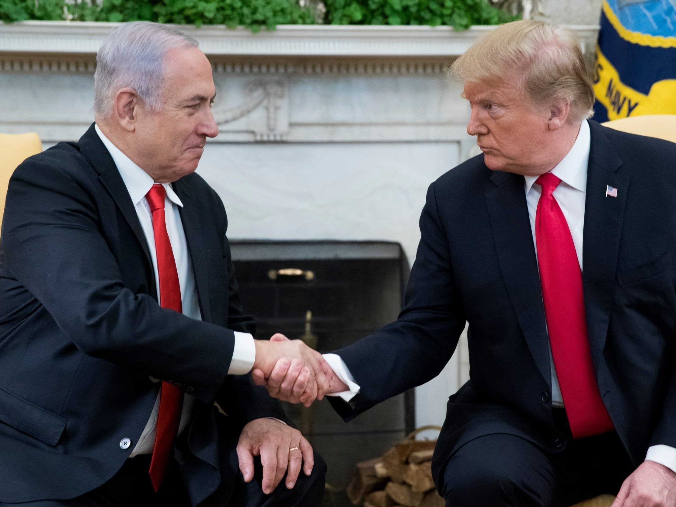 Opinion: By accepting Israeli control of the Golan Heights, Trump has accepted that Israel controls America