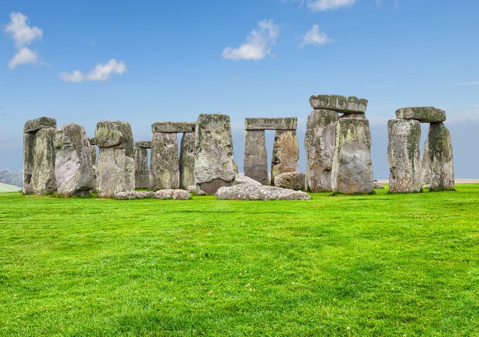 the prehistoric stonehenge is one of the earliest examples of