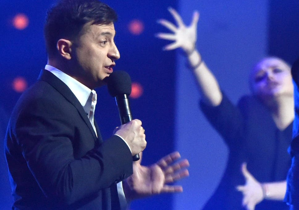 Volodymyr Zelensky: The showman whose next act may be taking the
