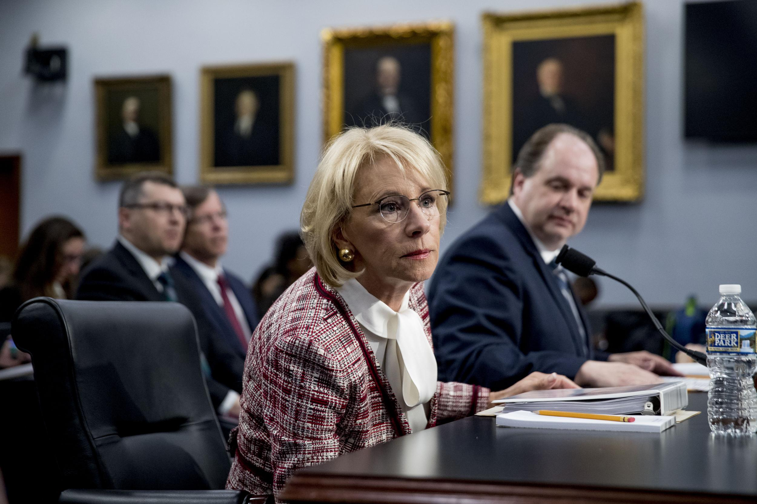 Betsy Devos And Plan To Break Public >> Betsy Devos Latest News Breaking Stories And Comment The