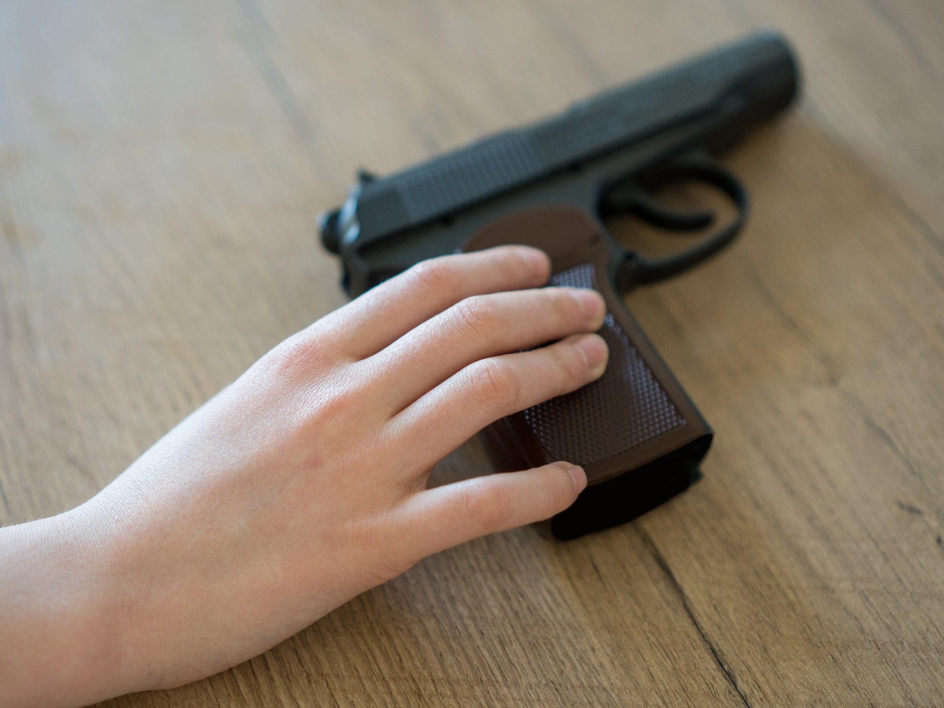 Toddler shoots four-year-old brother with father's gun in Texas