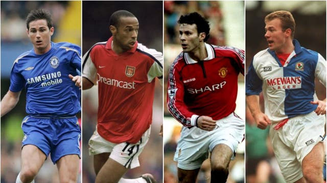 <b>Join us</b> for the complete countdown through the 100 greatest players in Premier League history.