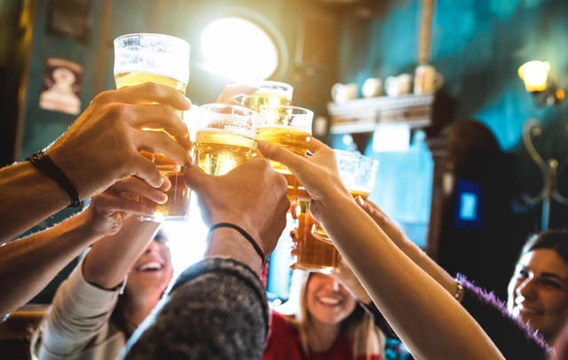 British consumption of alcohol has fallen nearly 10 per cent over three decades