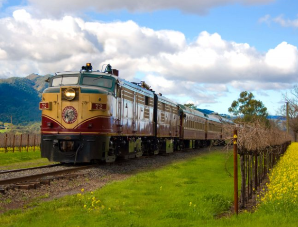 Napa Valley train lets passengers solve a murder mystery while wine tasting