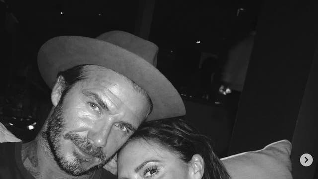 """""""Happy Mother's Day to 2 of the best mums in the world ... Two women that lead by example and love with everything they have... myself and my sisters are lucky and so are our beautiful children .. Happy Mother's Day to all the amazing mums in this world @victoriabeckham @sandra_beckham49"""", David Beckham wrote in a caption <br><br> <em>David Beckham (@davidbeckham)</em>"""