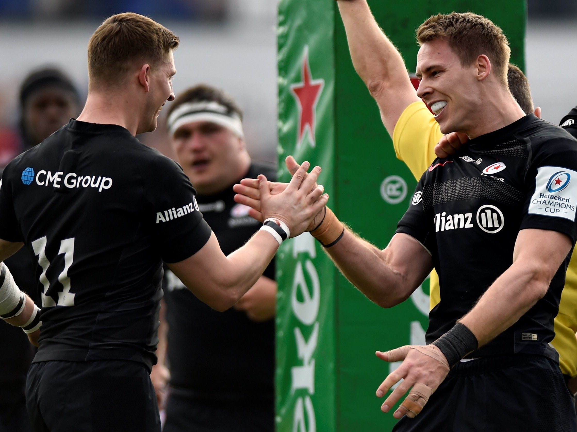 Champions Cup: Outmuscled, outgunned and outclassed - Saracens show why they remain favourites