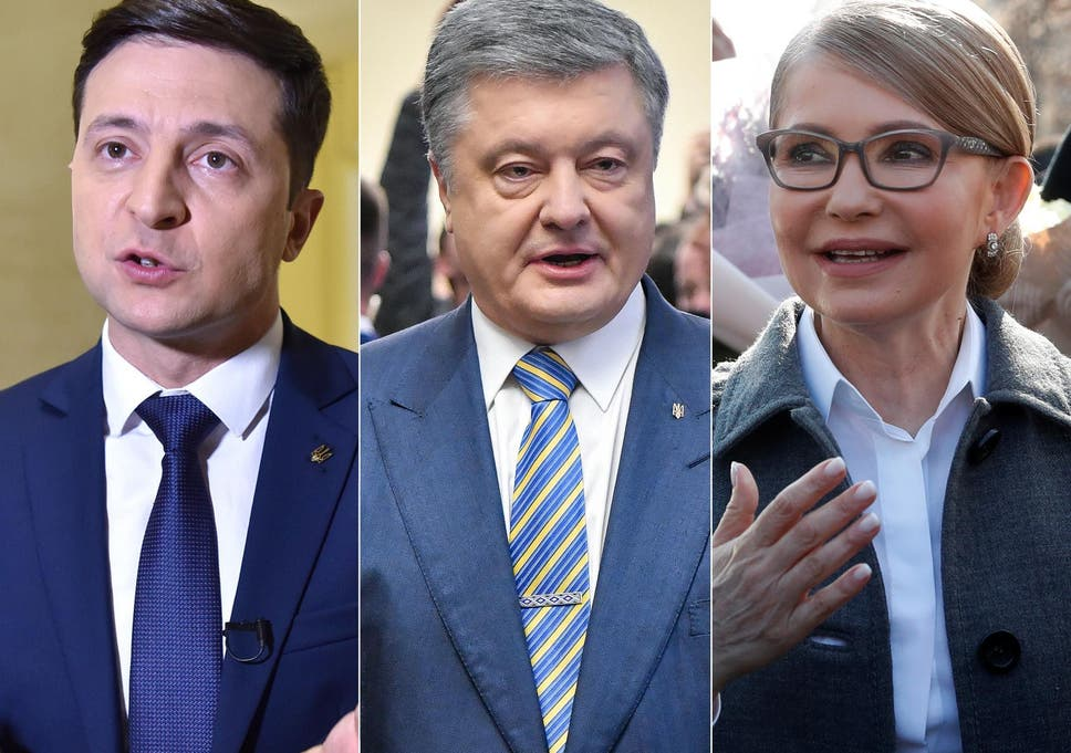 Ukraine Election: After the tears, comedian Volodymyr Zelensky and Petro  Poroshenko face off in second round battle