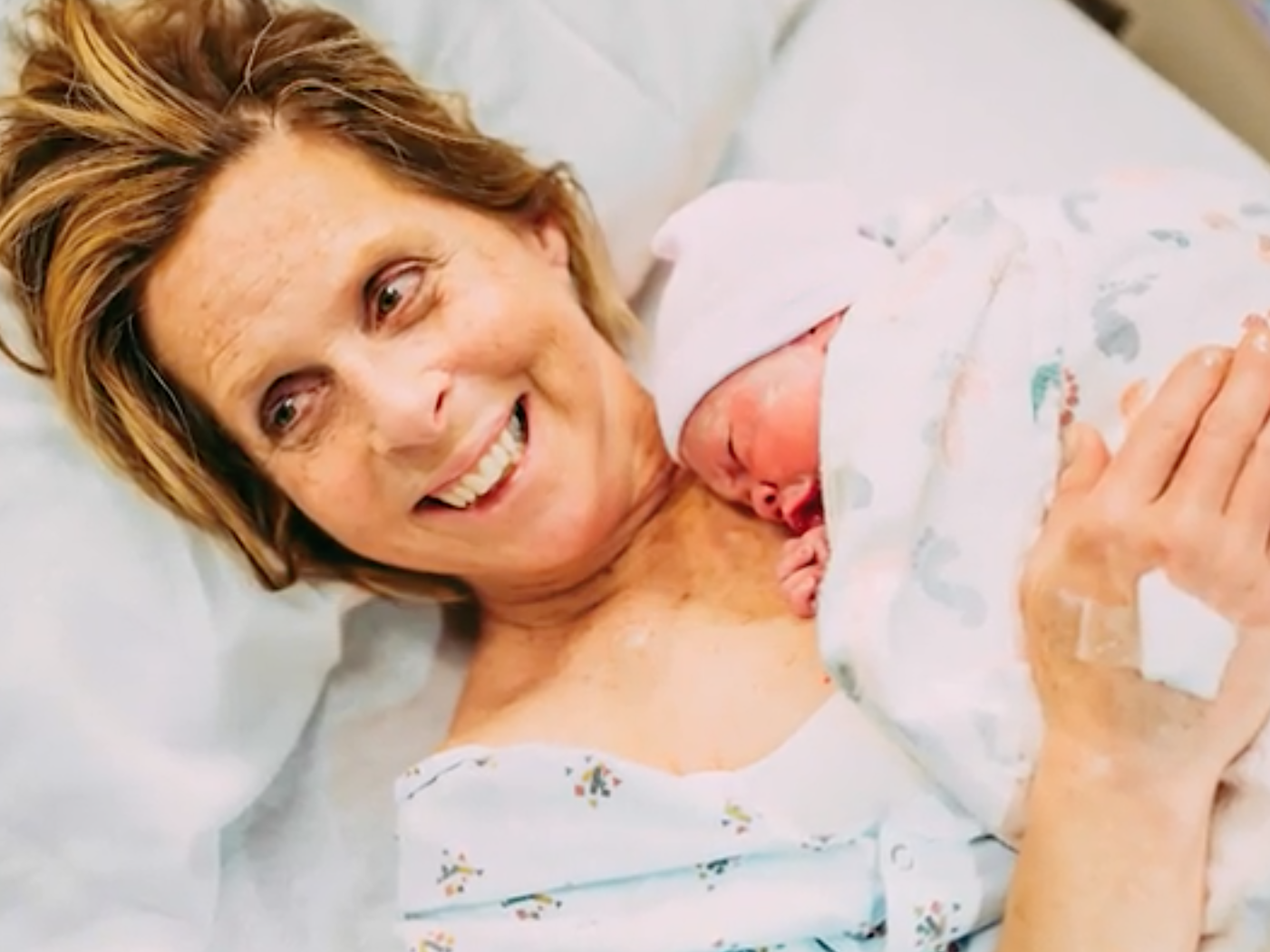 Woman, 61, gives birth to own granddaughter