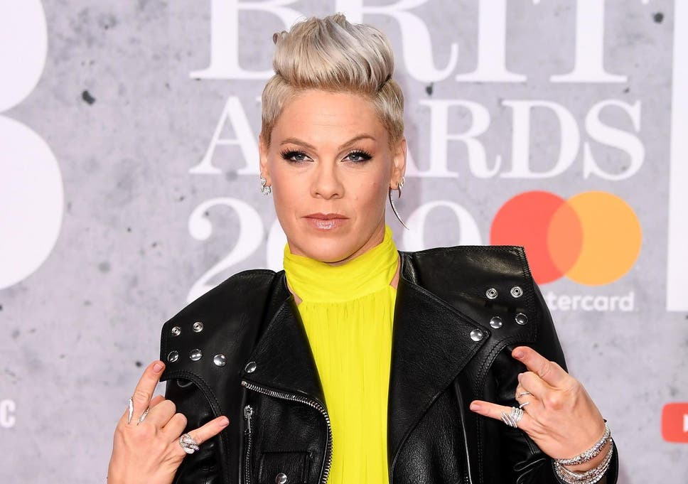 b424a3df1 Pink criticises 'disgusting' trolls who shamed her for photo of  two-year-old son