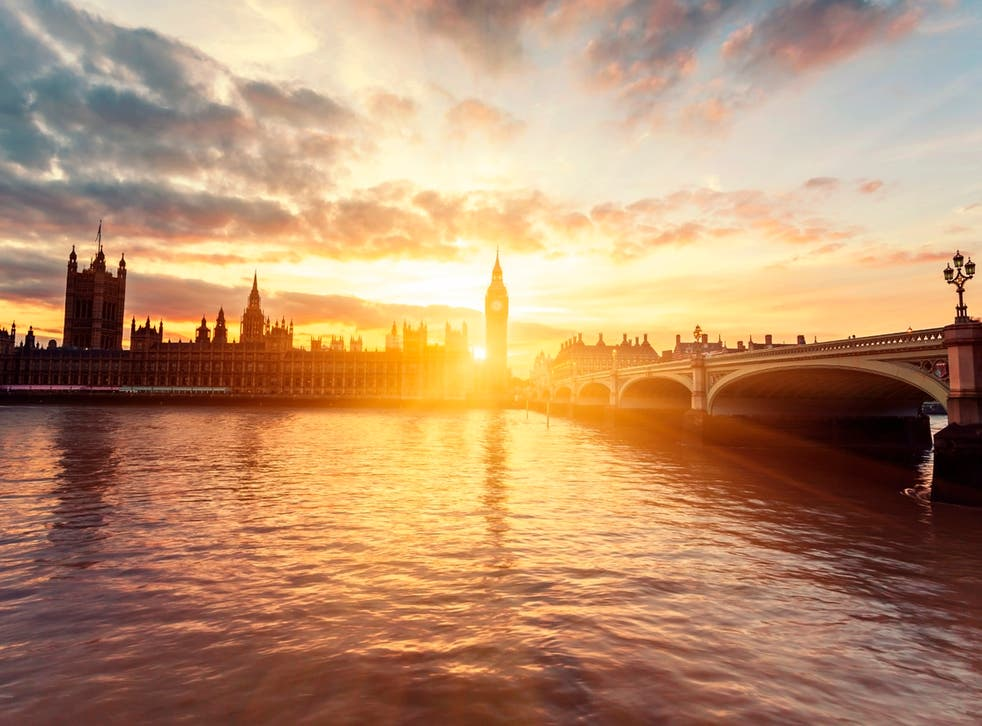A picture of a sunset over Westminster Bridge reminded Van Gogh how much he loved London