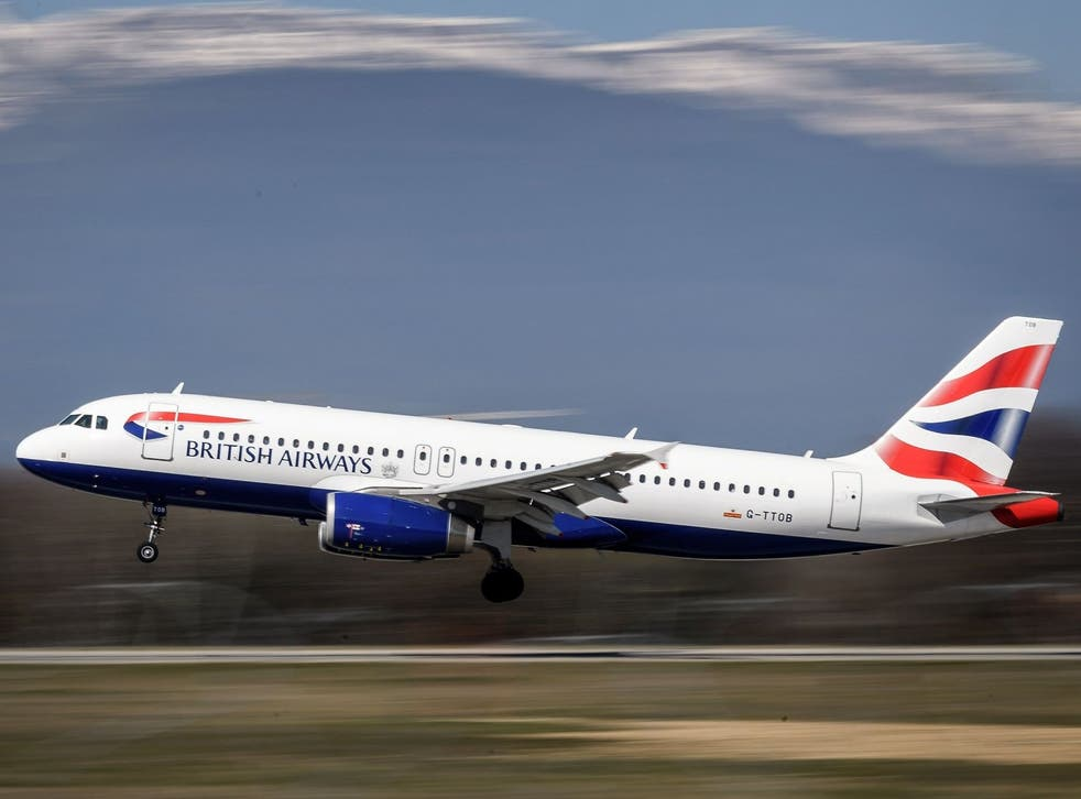 Late booking online with British Airways has proven fruitful