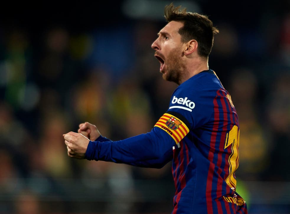 Messi inspired Barcelona to a last-gasp draw