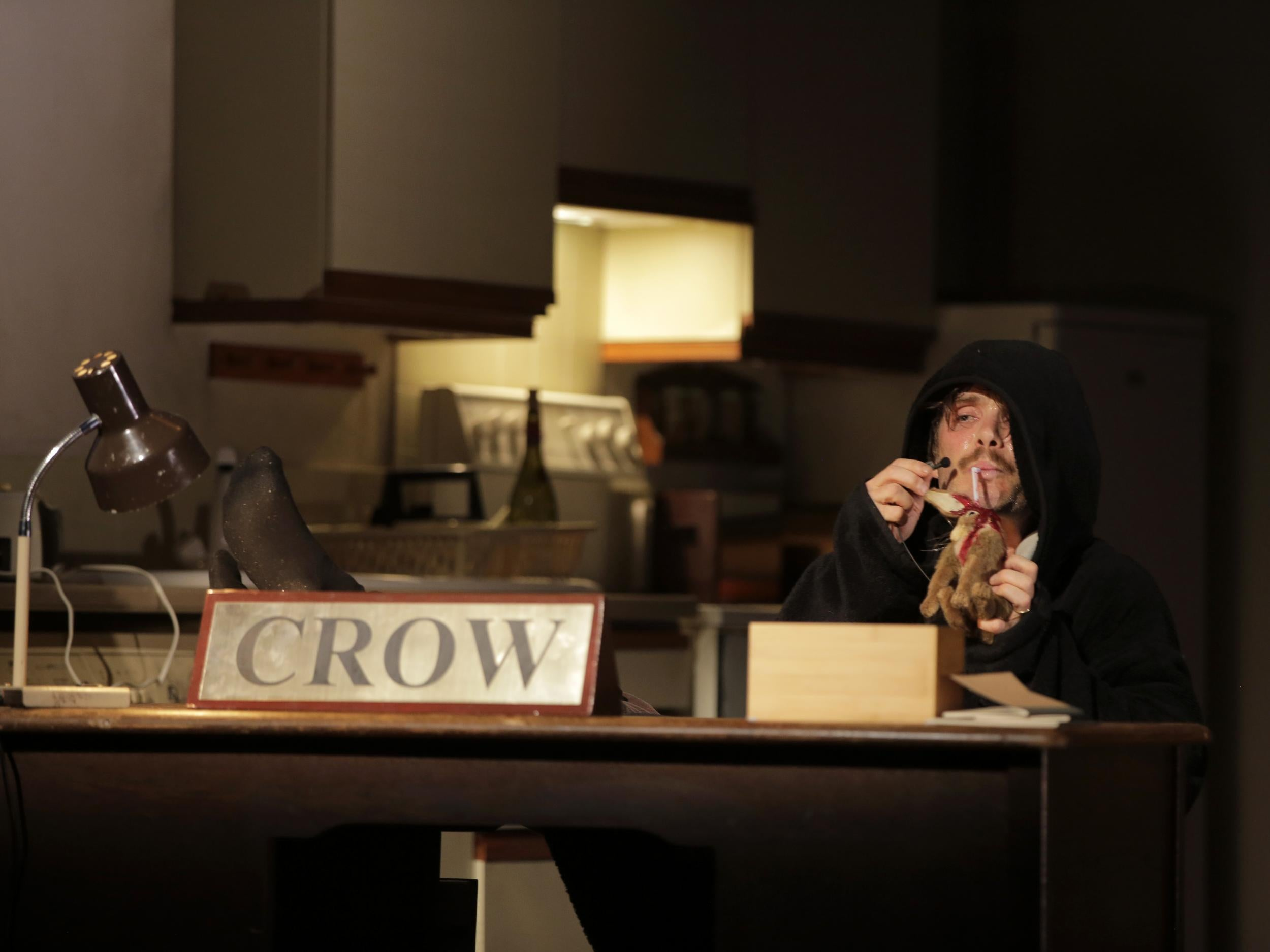 Grief Is the Thing with Feathers: 'Max Porter's Crow is a
