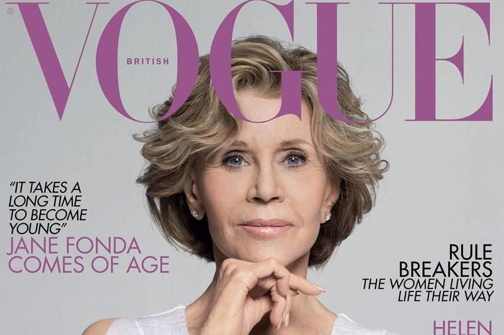 Jane Fonda covers 'ageless special' Vogue supplement at the age of
