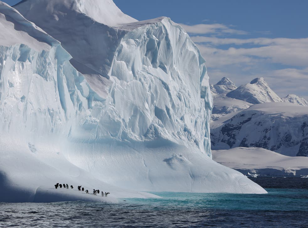The polar regions are warming faster than any part of the planet and glaciers are melting right now