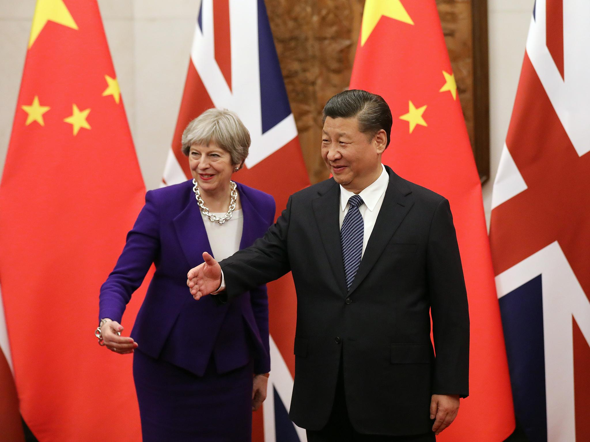 UK putting trade with China above security and human rights abuses