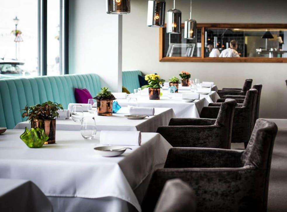 At James Sommerin, every table is served a slightly different version of the tasting menu