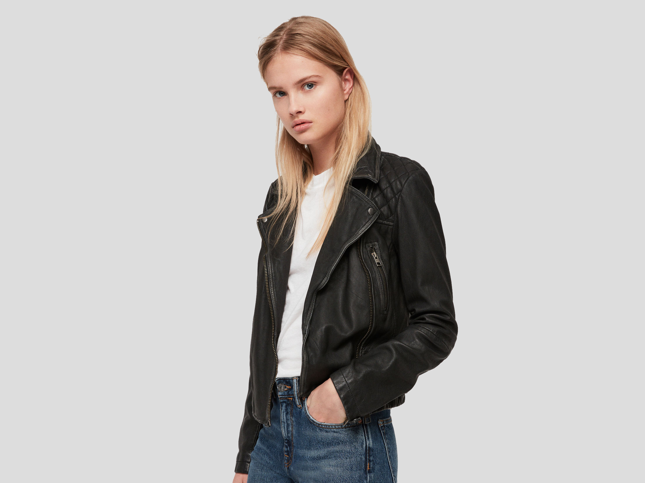28cd10edd 10 best women's leather jackets | The Independent