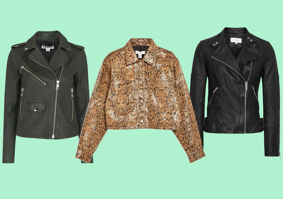 10 Best Women S Leather Jackets The Independent