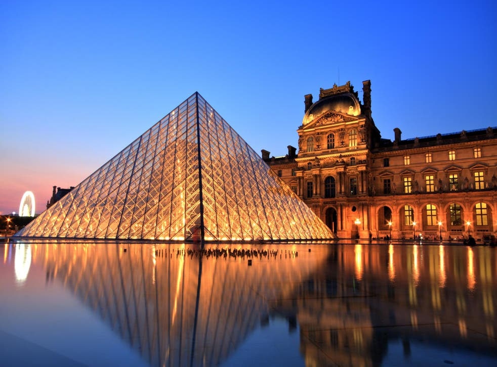 The Louvre is the world's largest art museum