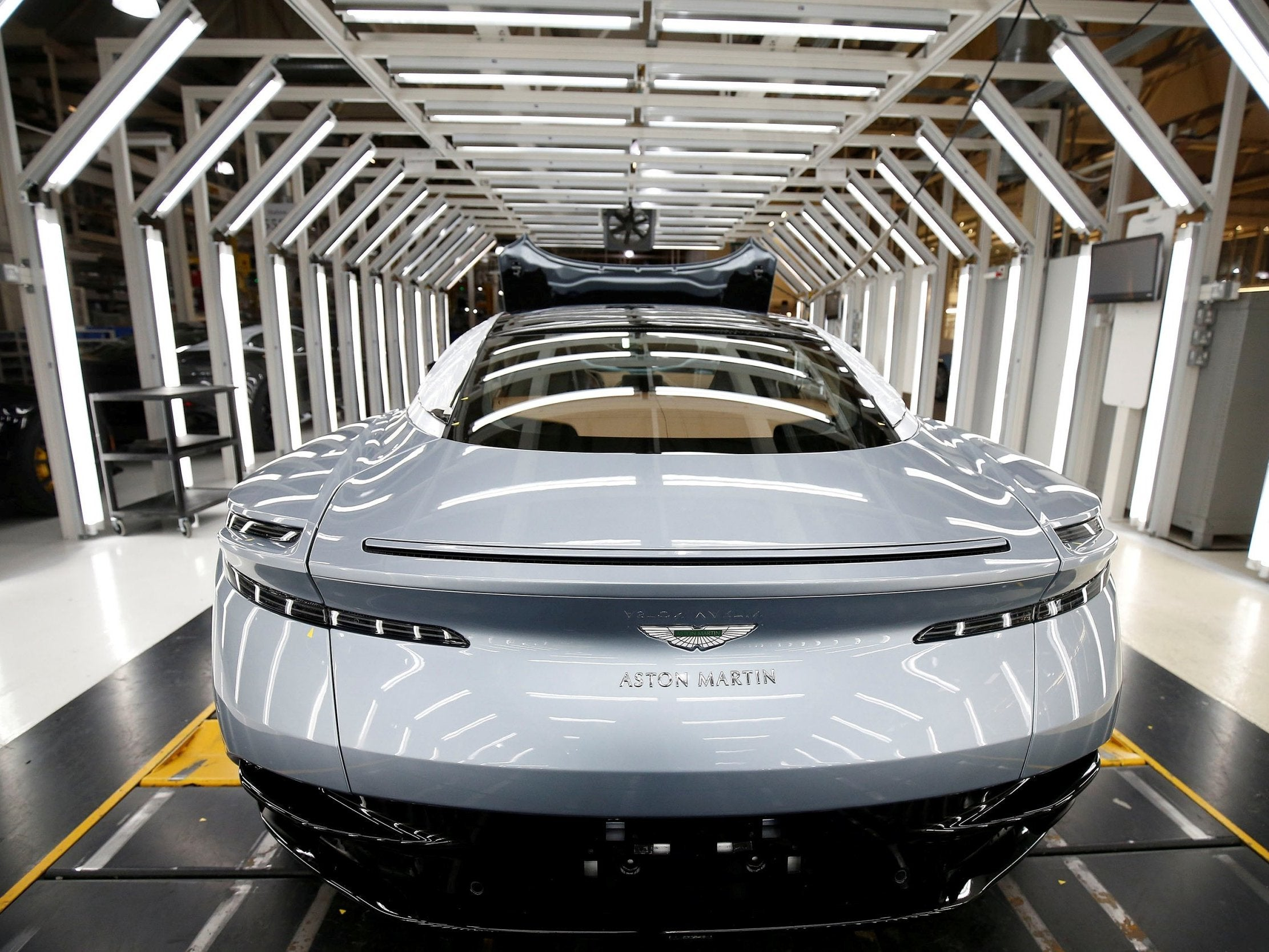 Brexit Aston Martin Says Luxury Cars To Get Cheaper If Uk Crashes Out With No Deal The Independent The Independent