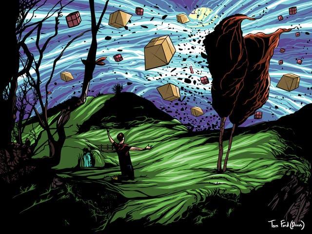 Illustration by Tom Ford