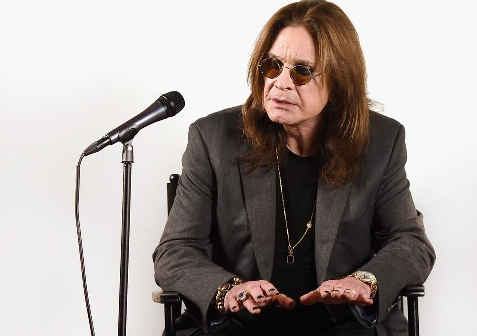 Ozzy Osbourne Announces 'No More Tours 2' Final World Tour at Press Conference at his Los Angeles Home on 6 February, 2018 in Los Angeles, California.