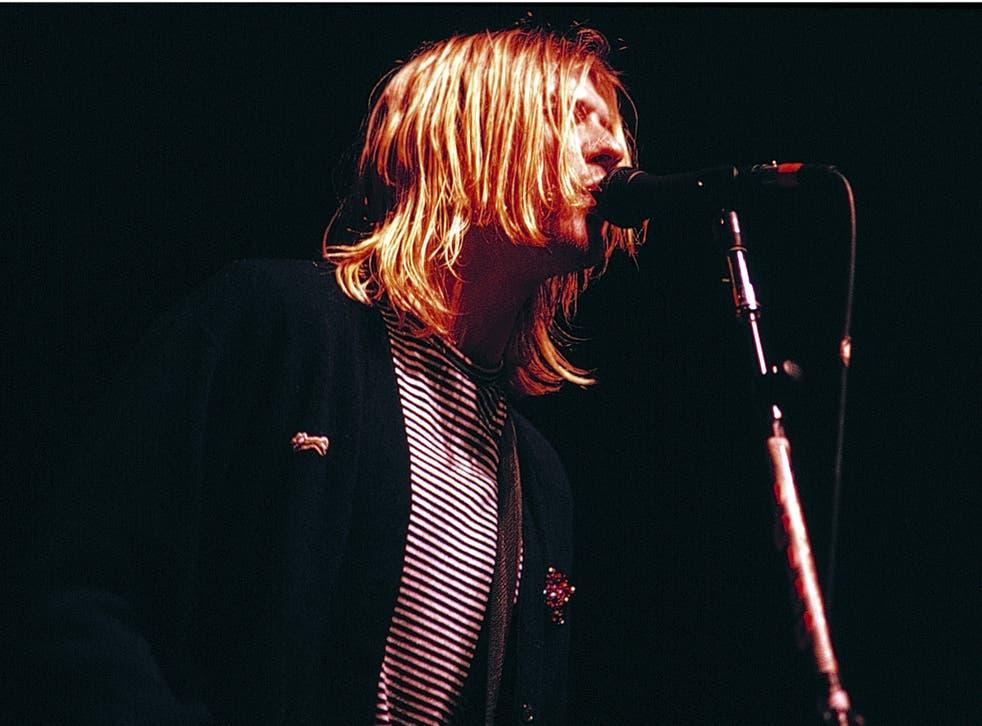 Nirvana leader Kurt Cobain was found dead in 1994