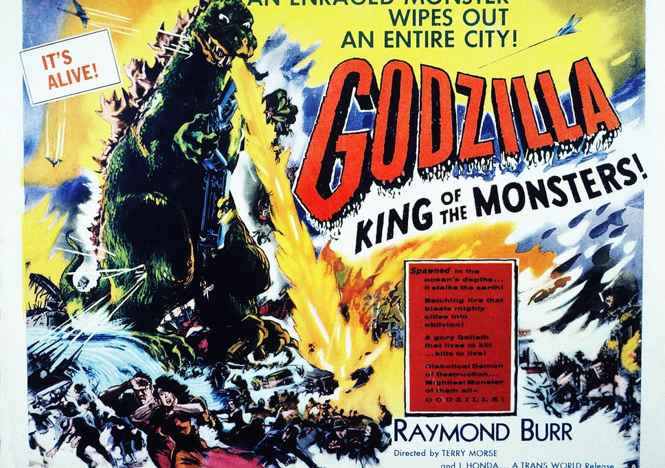 6bc704a8867 Big in Japan: a poster from the 1954 movie 'Godzilla King of the Monsters