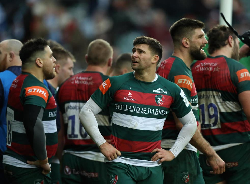 Leicester Tigers are one of six teams fighting for survival
