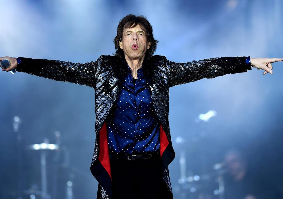 cienie Nowa lista nowy styl życia Mick Jagger shares health update following 'heart surgery ...