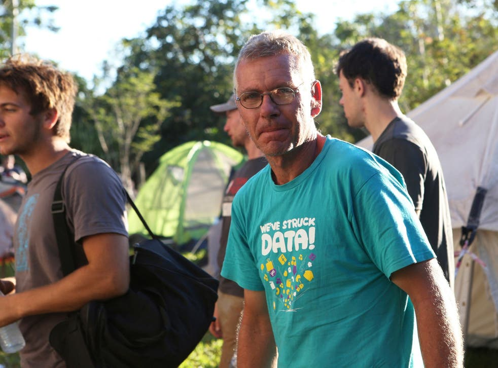 Gilles van de Wall started a rescue operation for nearby families which turned into a grassroots relief centre for thousands of people