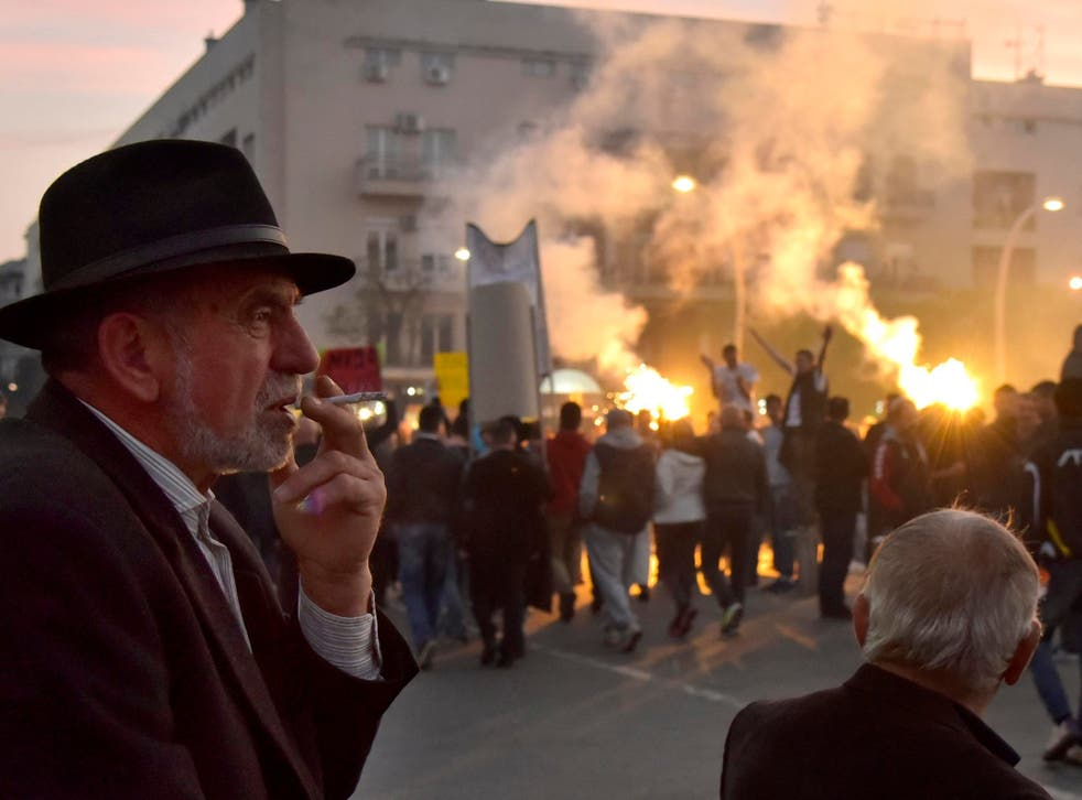 Protesters in Montenegro are demanding the resignation of Milo Djukanovic after almost 30 years in power