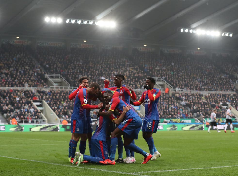 Palace swamp Luka Milivojevic after his penalty broke the deadlock