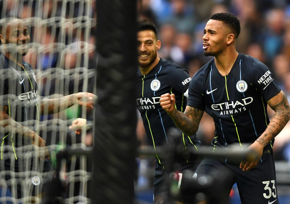 4b52dc660 Manchester City vs Brighton result  Gabriel Jesus delivers to ...
