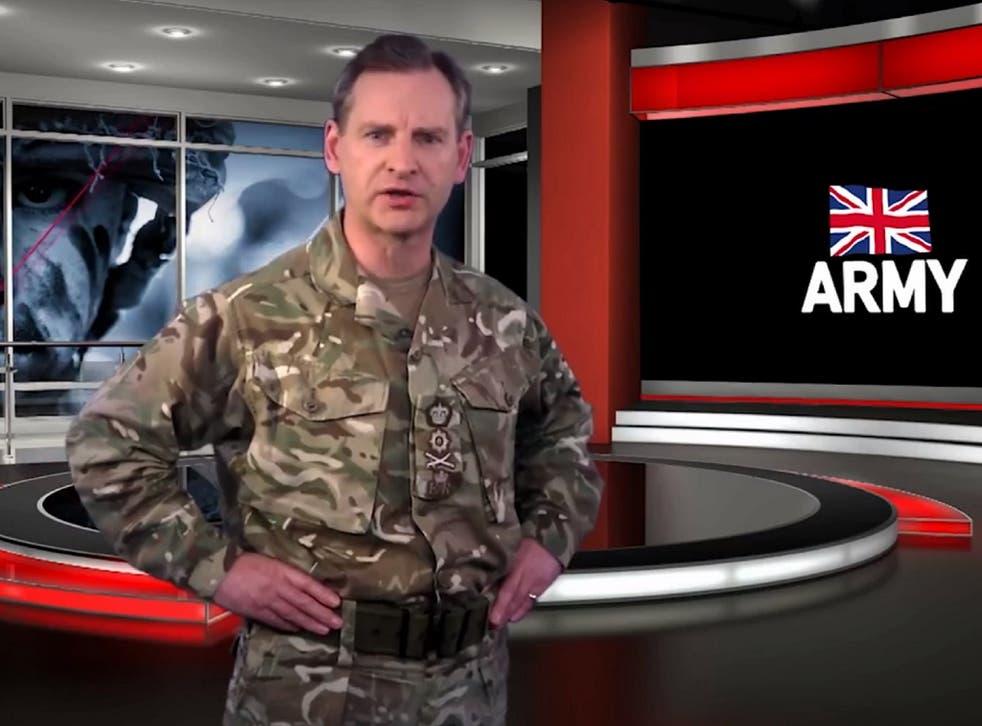 <p>British Army boss General Sir Mark Carleton-Smith.</p>
