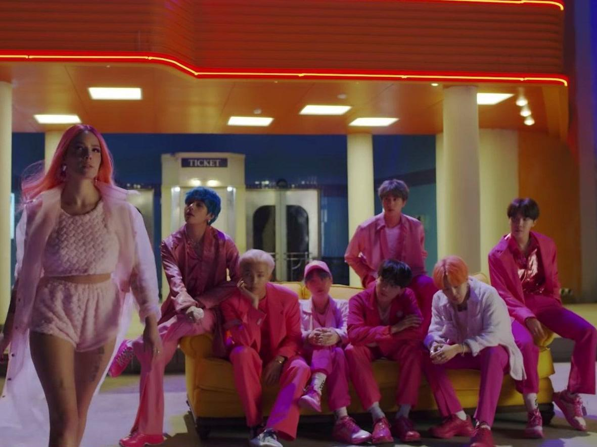 Boy with Luv: BTS unveil teaser for collaboration with Halsey