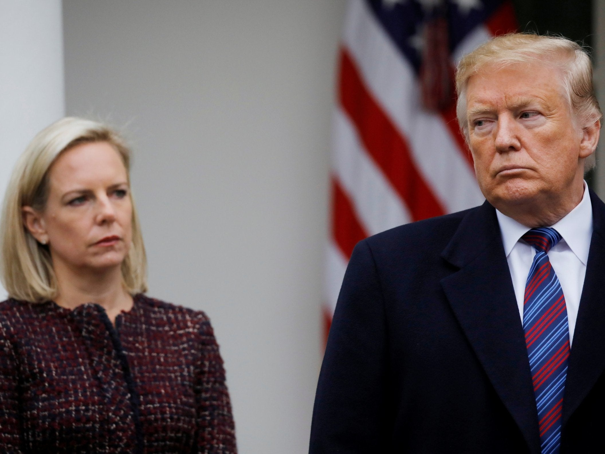 Kirstjen Nielsen's resignation proves that for Trump, the buck never stops with him