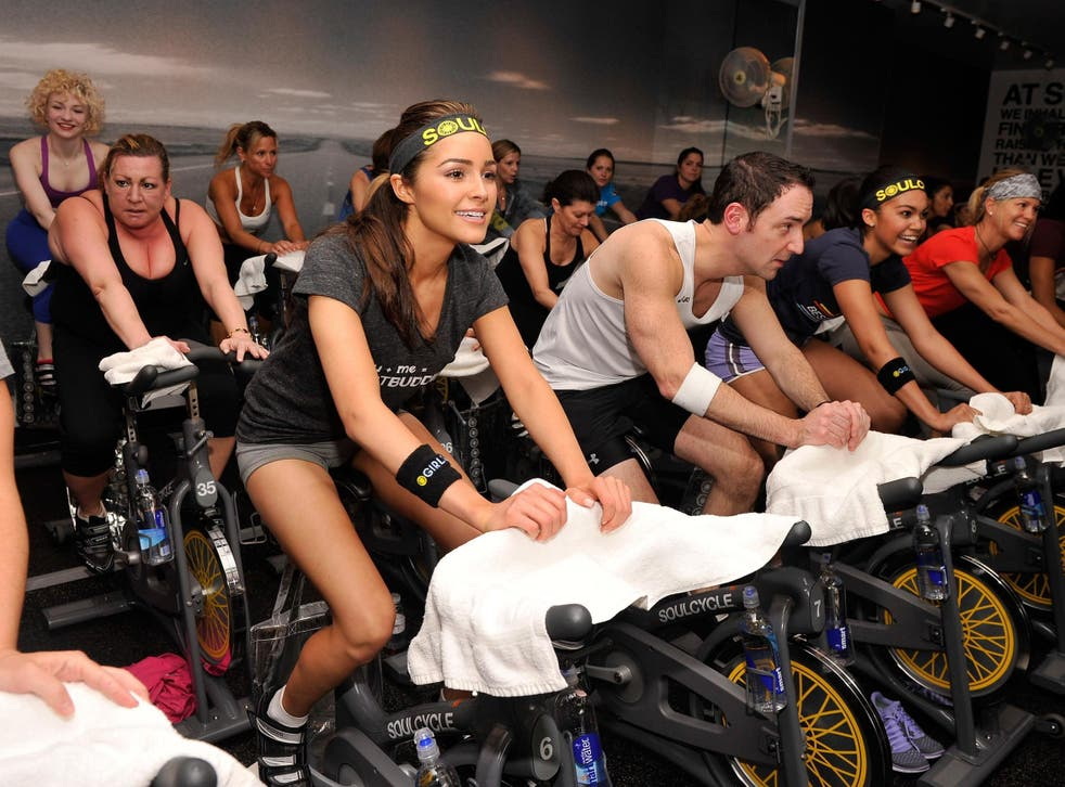 Olivia Culpo at SoulCycle, Upper East Side on 14 January 2013