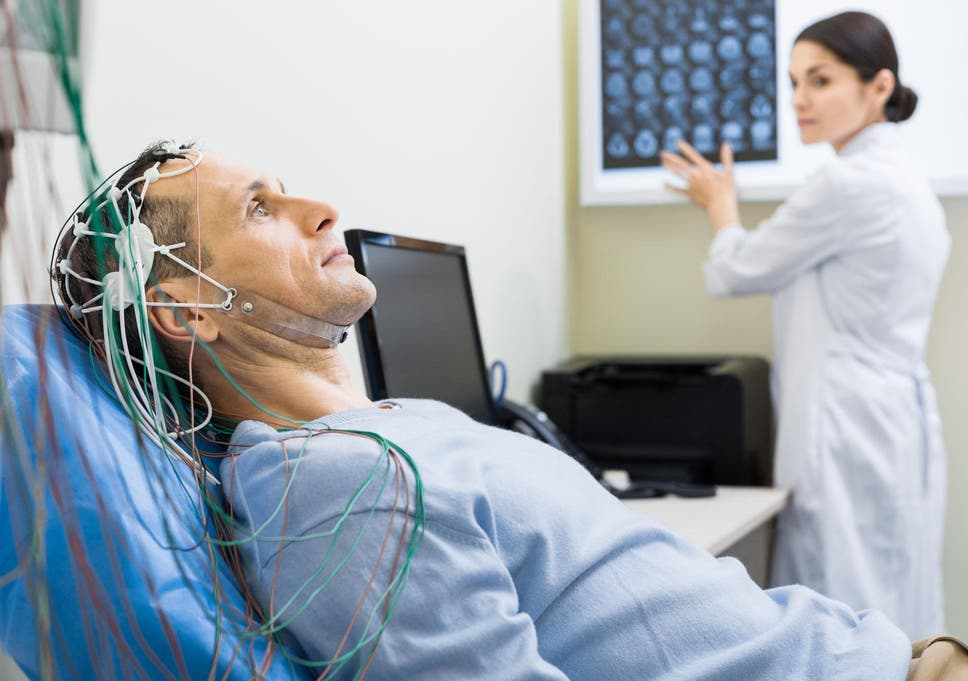 Electric shocks delivered to the brain restore youthful