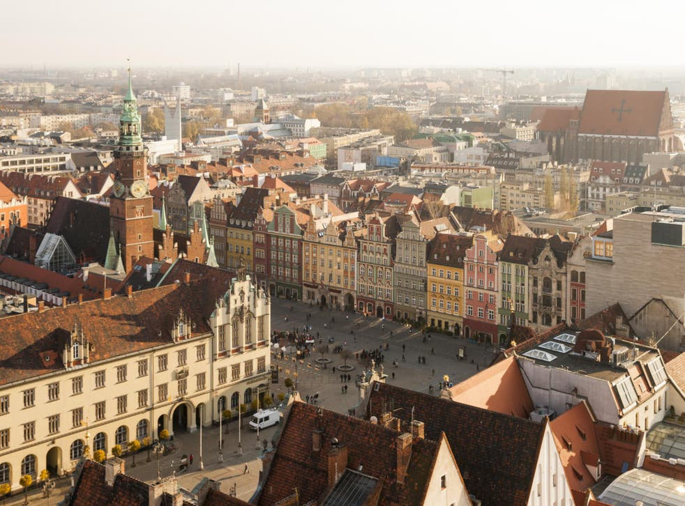Wrocław's historic Old Town Square is packed with elegant architecture