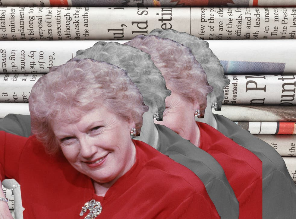 The late Denise Robertson was resident agony aunt on the ITV show 'This Morning'