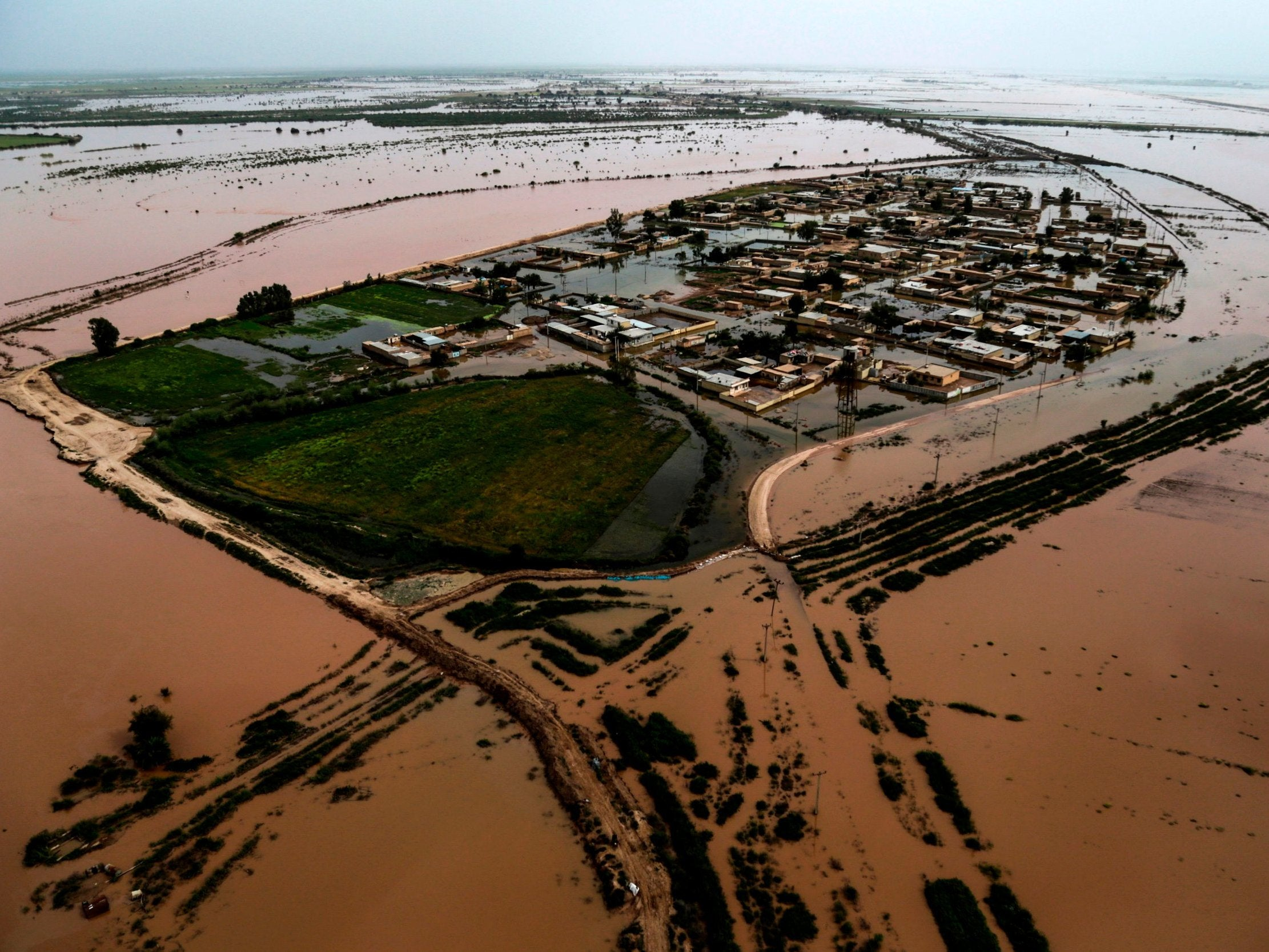 'Inhuman' Trump sanctions preventing aid money getting to victims of deadly floods in Iran, campaigners say