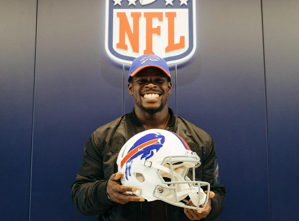 Wade has joined the Bills in the latest stage of his transition to the NFL
