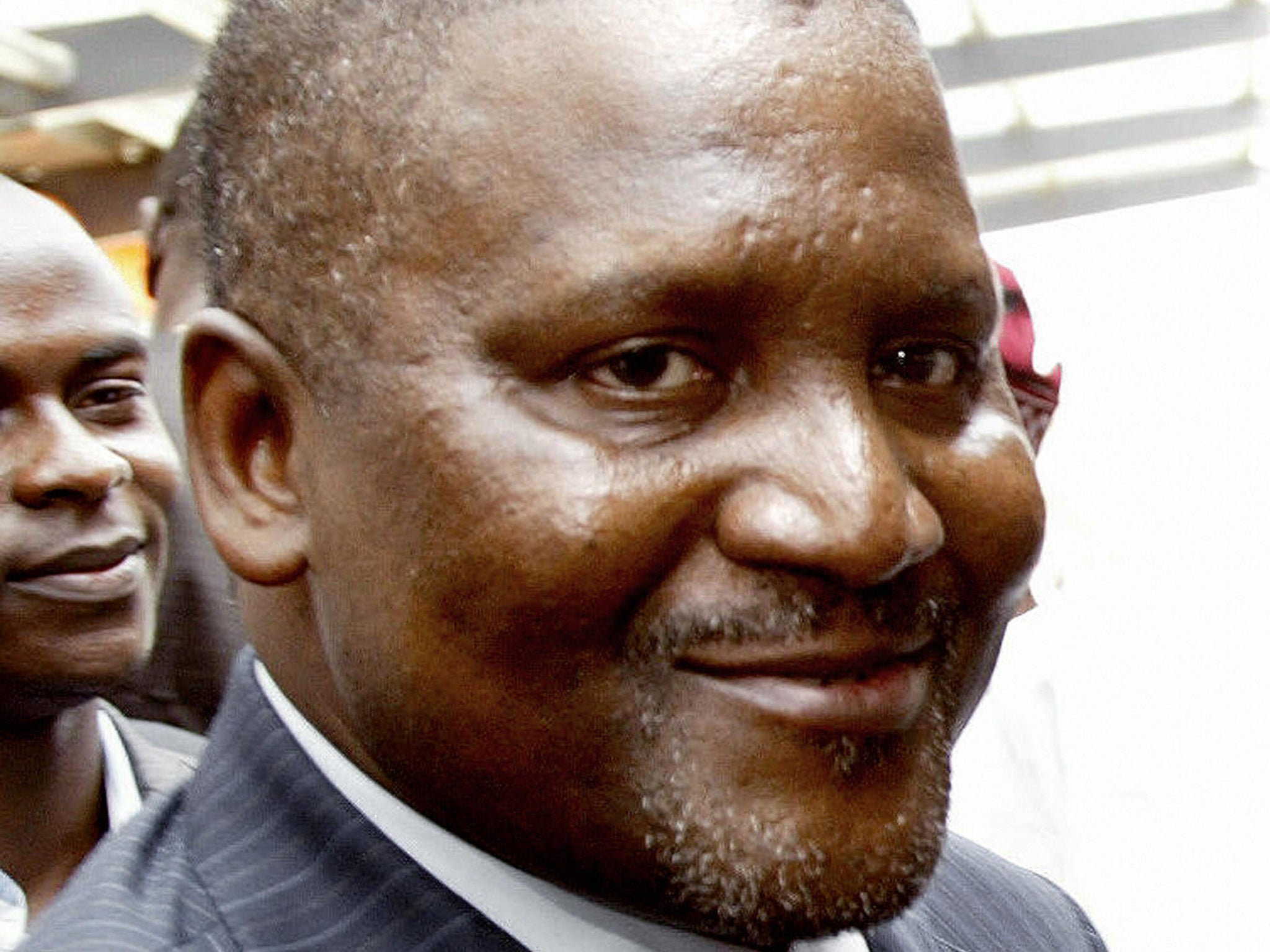 Africa's richest man says he withdrew $10m from bank 'just to look