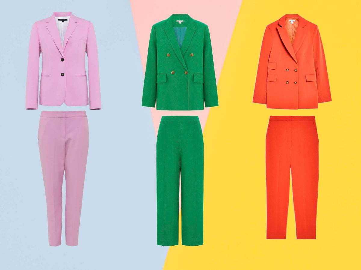 6 Best Women S Coloured Suits The Independent The Independent