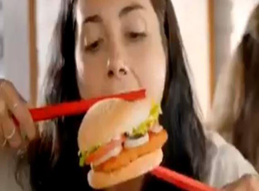 A screenshot of the Burger King New Zealand ad